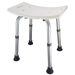 Ez2care Adjustable Lightweight Shower Bench