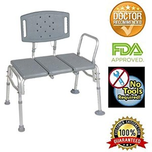 Healthline Transfer Bench Adjustable Height