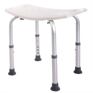 JAXPETY 6 Height Adjustable Bath and Shower Seat